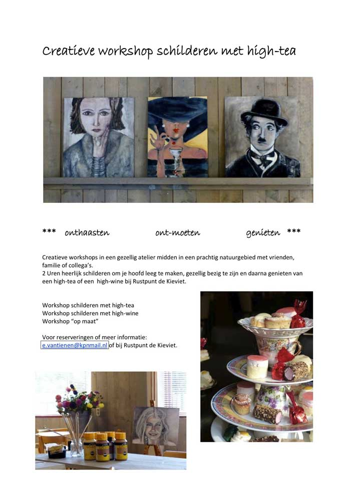 Workshop-Schilderen-met-high-tea